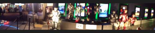 Iron Man armor display at Ayala Malls Glorietta 4 Cinemas